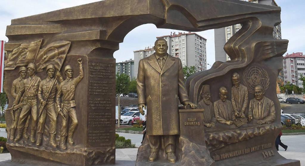 Κωνσταντινούπολη: Αυτό είναι το άγαλμα για την Κύπρο που εξόργισε τον Ερντογάν (Pics)