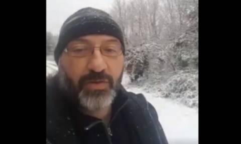 Καιρός: Το έστρωσε ξανά μέσα στη Θεσσαλονίκη! Το Live του Σάκη Αρναούτογλου (video)