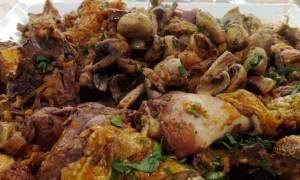 Η συνταγή της ημέρας: Κοτόπουλο κρασάτο με χοντρό μακαρόνι