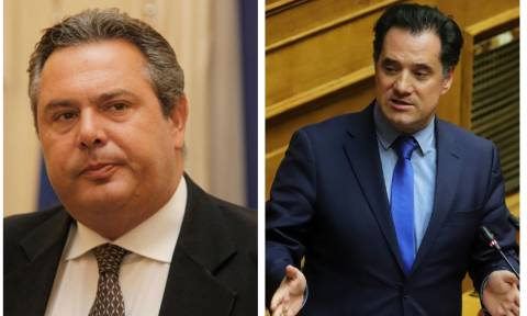 Χαμός στη Βουλή: Αρπάχτηκαν Καμμένος – Γεωργιάδης για την τροπολογία αναβάθμισης των F-16