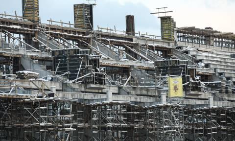 Τραγωδία: Νεκρός εργάτης στο νέο γήπεδο της ΑΕΚ