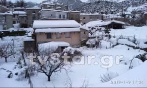 Εφιαλτικές στιγμές για 72χρονο: Πέθανε αβοήθητος σε χωριό αποκλεισμένο από τα χιόνια (Pics)