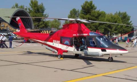 Πάτμος: Διακομιδές ασθενών με ελικόπτερο του ΕΚΑΒ
