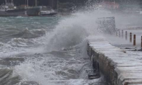Καιρός: Απαγορευτικό στα λιμάνια της Κεφαλονιάς