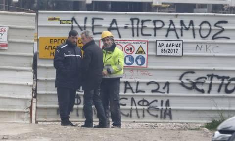 Οργισμένη ανακοίνωση των οικοδόμων Νέας Φιλαδέλφειας για το δυστύχημα στο γήπεδο της ΑΕΚ