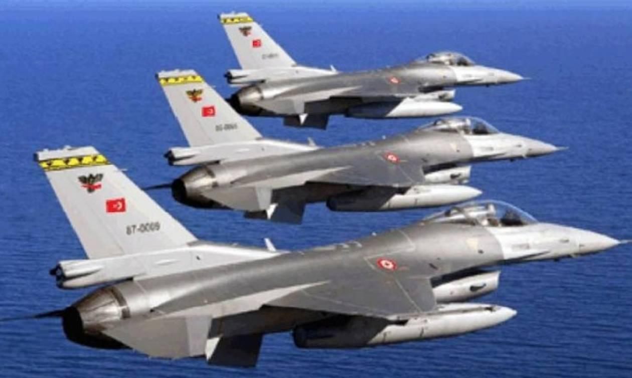 Συναγερμός: Εμπλοκή πάνω από το Αιγαίο με οπλισμένα τουρκικά μαχητικά