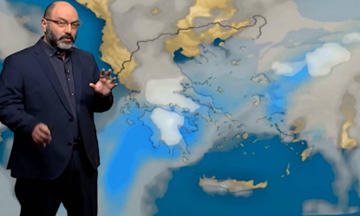 Καιρός: Νέος χιονιάς το Σαββατοκύριακο! Η ανάλυση του Σάκη Αρναούτογλου (video)