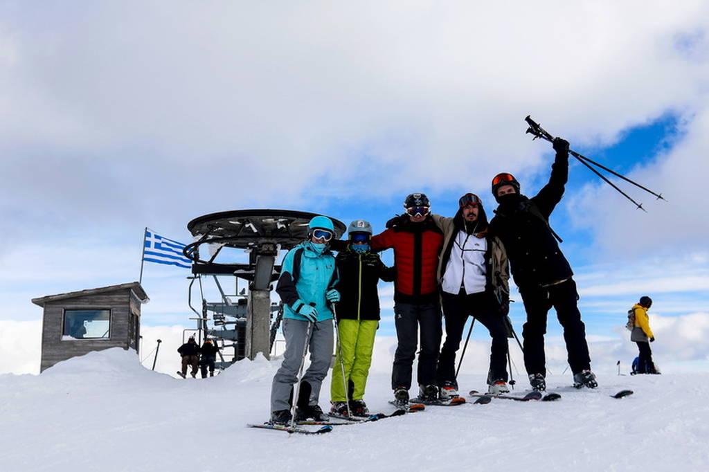 Σε πλήρη λειτουργία τα χιονοδρομικά κέντρα στη Βόρεια Ελλάδα