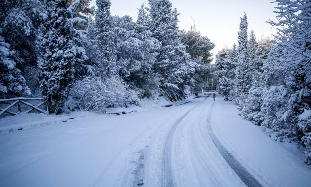 ΕΜΥ: Ερχονται ξανά χιονοπτώσεις! Ο καιρός μέχρι την Τρίτη (video)