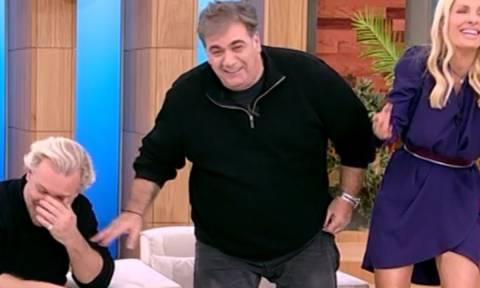 Κλάμα! Η απολαυστική ατάκα του Σταρόβα για το κορμί του, που τρέλανε την Ελένη!