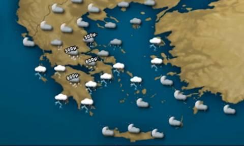 Καιρός: Πυκνές χιονοπτώσεις από το βράδυ της Παρασκευής! Η ανάλυση του Σάκη Αρναούτογλου (video)