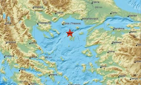 Σεισμός βόρεια της Λήμνου (pics)