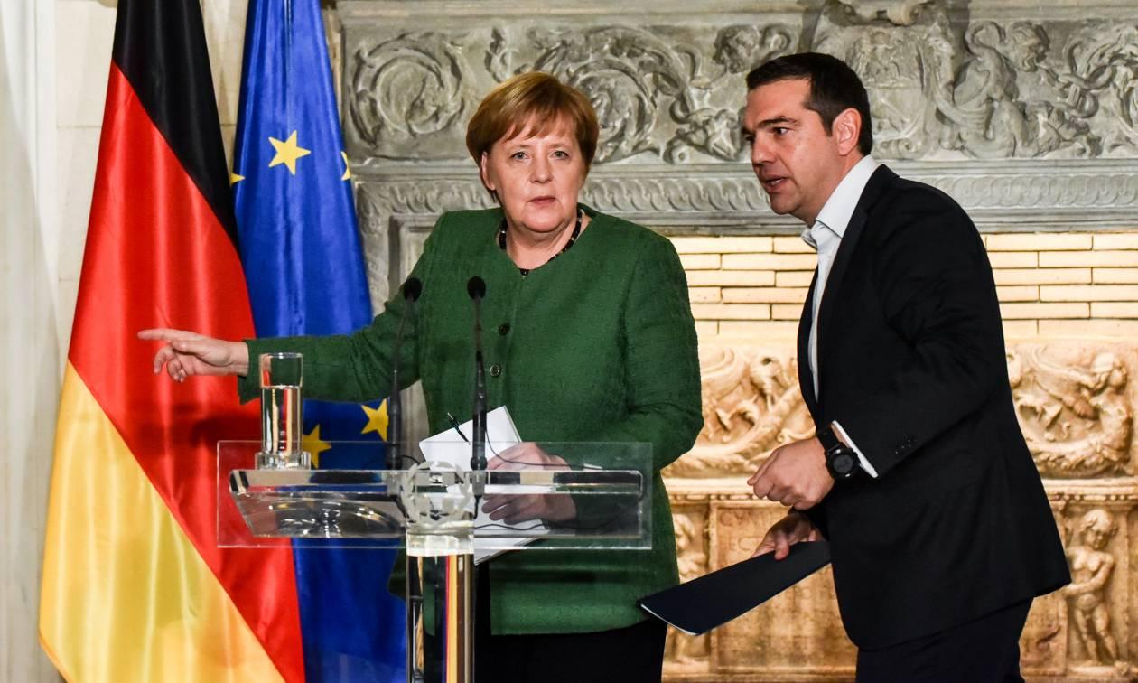 Έπεσαν οι μάσκες: Η Μέρκελ ευχαρίστησε τον Τσίπρα για τη Συμφωνία των Πρεσπών