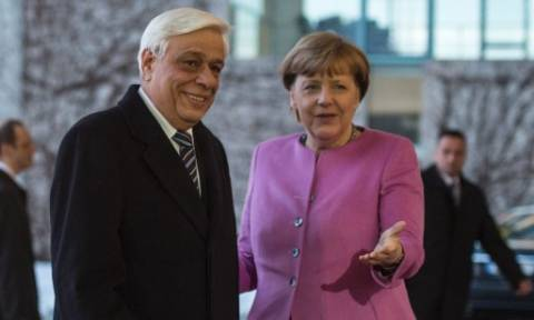 LIVE: Συνάντηση Παυλόπουλου - Μέρκελ – Θέμα γερμανικών αποζημιώσεων έθεσε ο Πρόεδρος