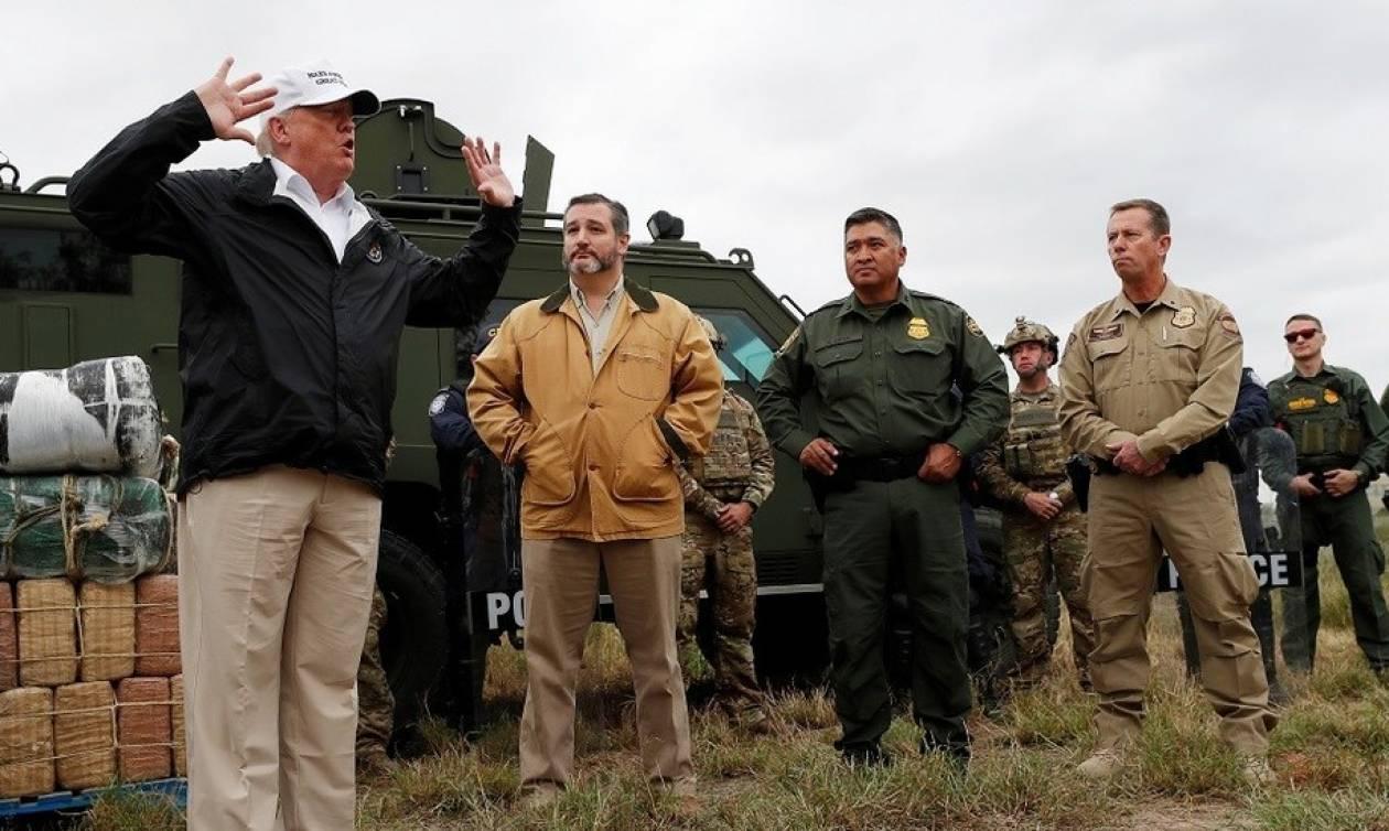 «Το τείχος στα σύνορα με το Μεξικό θα χτιστεί» - Αυτή είναι η κίνηση–ματ που ετοιμάζει ο Τραμπ