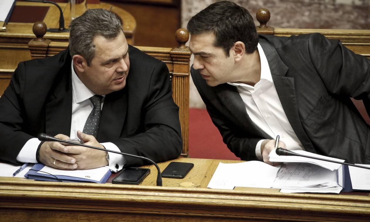 Τελεσίγραφο Τσίπρα σε Καμμένο: Δώσε ψήφο εμπιστοσύνης ή την ζητάω από τη Βουλή