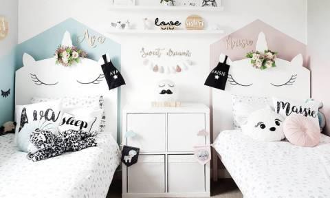 Δύο παιδιά στο ίδιο δωμάτιο: Ιδέες διακόσμησης και πρακτικές συμβουλές (pics)
