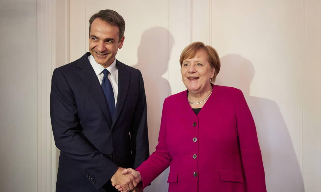 Μητσοτάκης σε Μέρκελ: «Γι' αυτούς τους λόγους θα καταψηφίσω τη Συμφωνία των Πρεσπών»