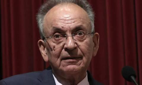 Πέθανε ο πρώην πρόεδρος της Βουλής Δημήτρης Σιούφας