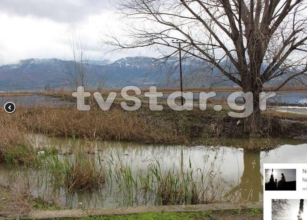 Συναγερμός στον Βοιωτικό Κηφισό - Πλημμύρες σε αγροτικές εκτάσεις (pics+vid)