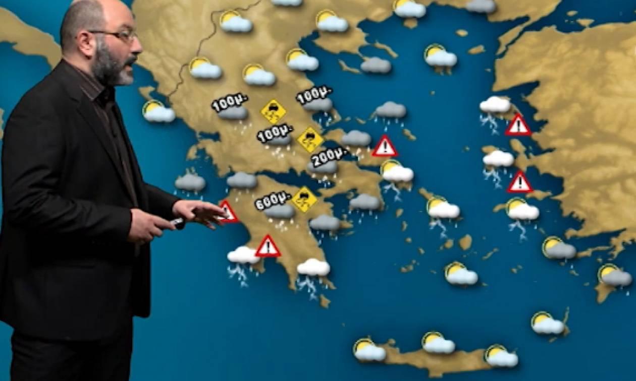 Καιρός: Πού θα χιονίσει τις επόμενες ώρες; Η ανάλυση του Σάκη Αρναούτογλου (video)