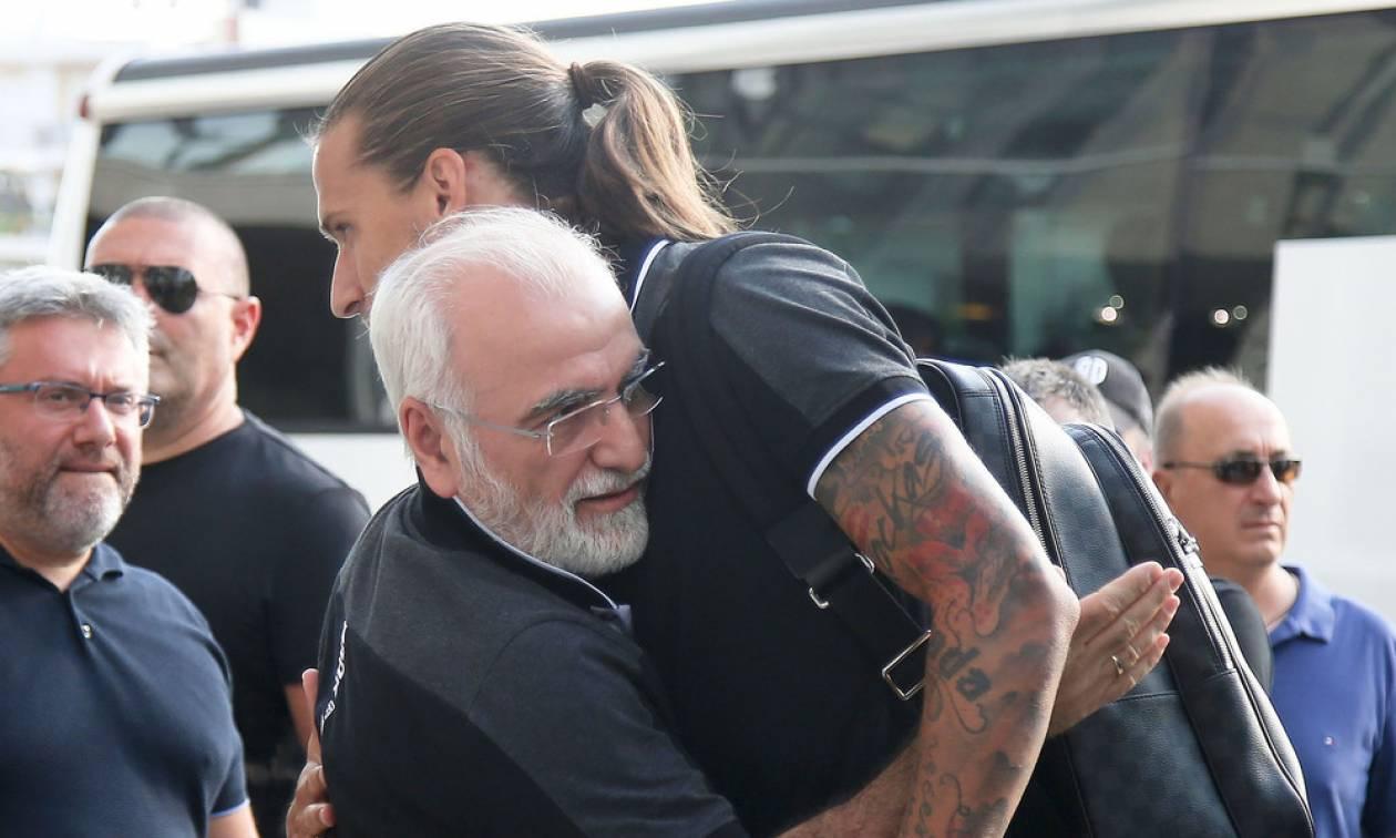 Πρίγιοβιτς σε Ιβάν Σαββίδη: «Μεγάλο αφεντικό, σε ευχαριστώ» (photo)