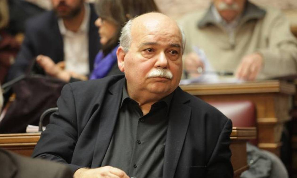 Συλλυπητήρια του προέδρου της Βουλής για τον θάνατο του Δημήτρη Σιούφα