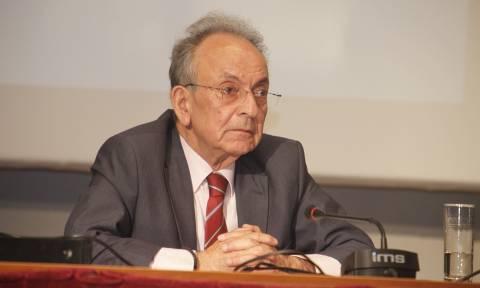 Θλίψη για τον θάνατο του πρώην προέδρου της Βουλής Δημήτρη Σιούφα