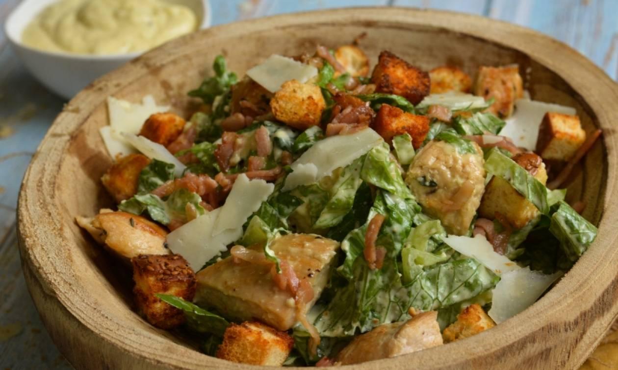 Η συνταγή της ημέρας: Caesar's salad