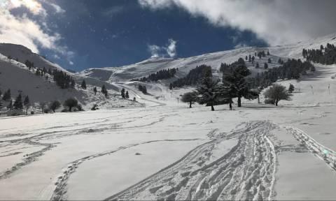 Χιονοστιβάδα στα Καλάβρυτα: Έκλεισε το χιονοδρομικό κέντρο