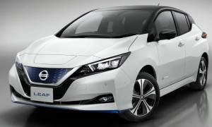 Αυτοκίνητο: Η κορυφαία έκδοση e+ του Nissan Leaf έχει μεγαλύτερη αυτονομία και 217 ίππους