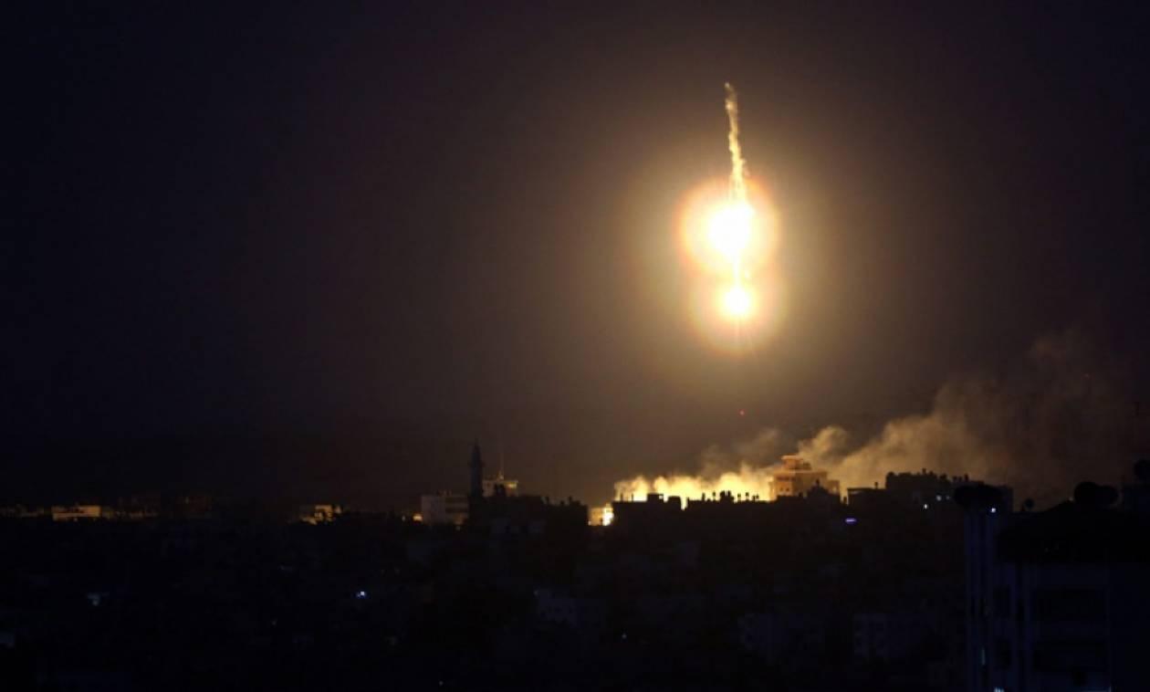Ισραηλινές αεροπορικές επιδρομές εναντίον θέσεων της Χαμάς