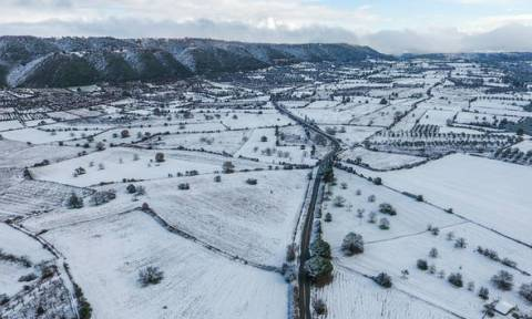 Την Τρίτη οι περισσότερες χιονοπτώσεις και σε χαμηλά υψόμετρα! Ο καιρός μέχρι την Παρασκευή (video)