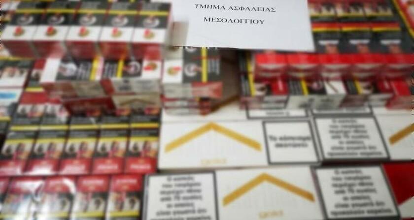 Μεσολόγγι: Συνελήφθη 36χρονος για μεγάλη ποσότητα λαθραίων τσιγάρων και καπνού (pics)