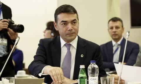 Ντιμιτρόφ: Η ελληνική κυβέρνηση παραμένει αφοσιωμένη στη Συμφωνία των Πρεσπών