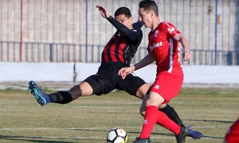 Football League: «Χτύπησε» στο τέλος ο Βόλος, έμεινε όρθιος ο Ηρακλής