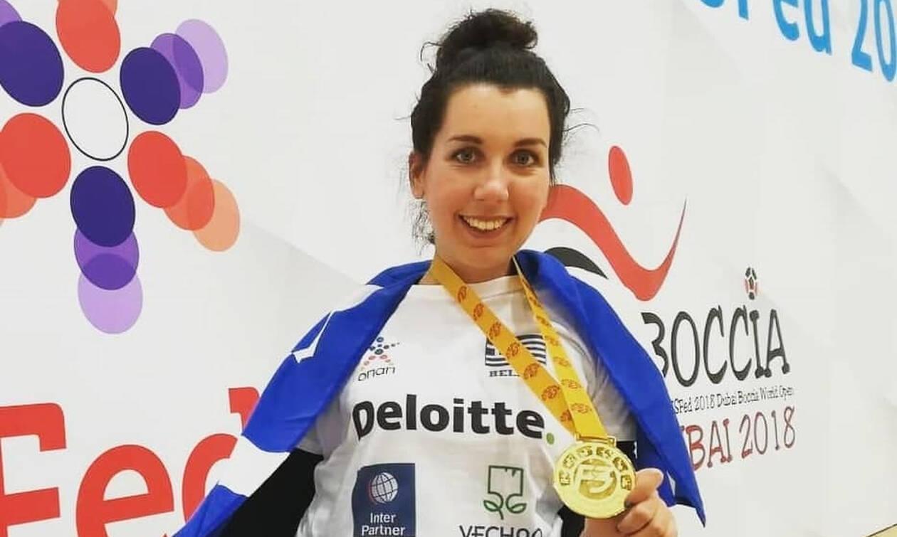 Η Αναστασία Πυργιώτη κατέκτησε το χρυσό μετάλλιο με την Vechro υπερήφανη χορηγό στο πλευρό της