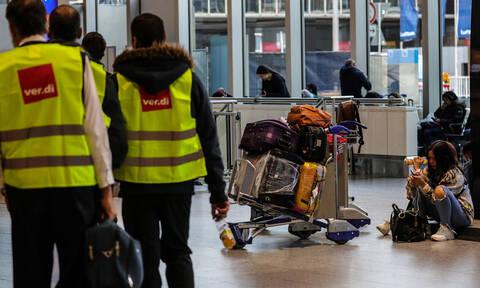 Χαός σε 8 αεροδρόμια της Γερμανίας: Ακυρώθηκαν εκατοντάδες πτήσεις (pics)