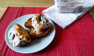 Η συνταγή της ημέρας: Παγωτό μπανάνα με κομμάτια σοκολάτας