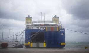 Strong winds keep ferries docked at ports on Wednesday