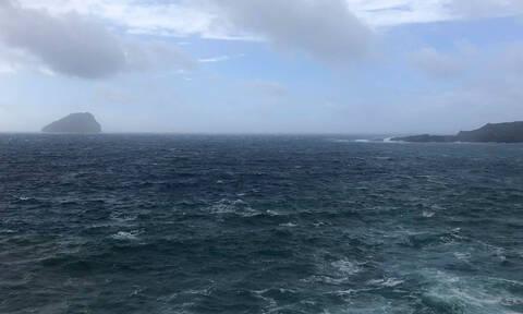Βροχή και κύματα «έπνιξαν» τη Νάξο (pics+vid)