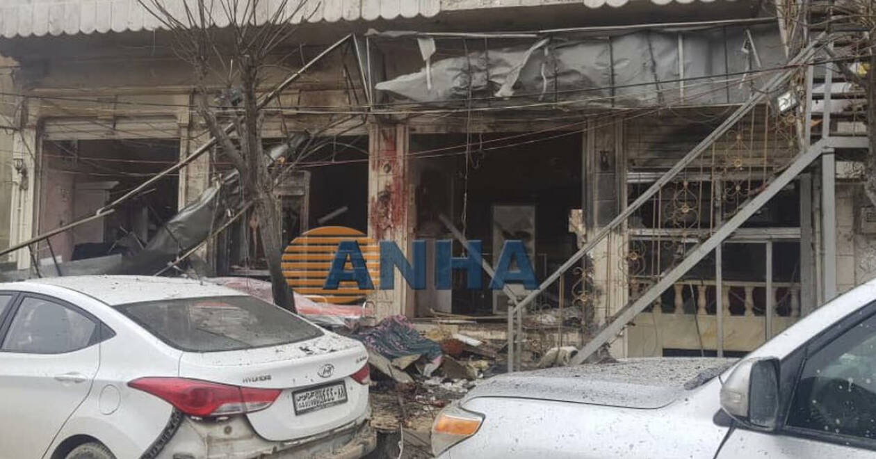 Σκηνές φρίκης στη Μανμπίτζ: Καμικάζι ανατινάχθηκε σε εστιατόριο με Αμερικανούς – Είκοσι νεκροί (Vid)