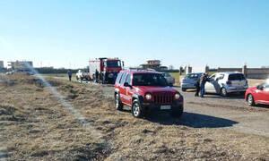 Πτώση αεροσκάφους στο Μεσολόγγι: Εντοπίστηκε κηλίδα καυσίμων