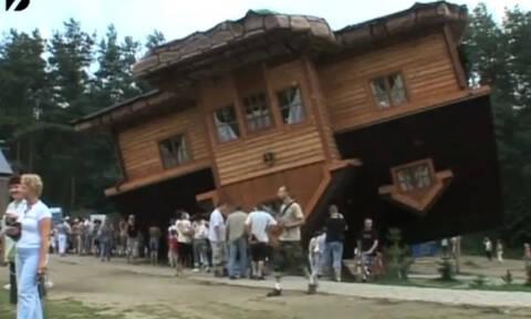 Επικό! Έφτιαξε ανάποδα το σπίτι και ο λόγος θα σας ξαφνιάσει! (vid)
