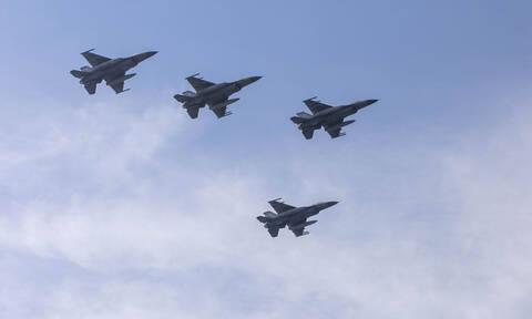 «Σουρωτήρι» και πάλι το Αιγαίο: Πέντε εικονικές αερομαχίες και 62 παραβιάσεις από τουρκικά μαχητικά