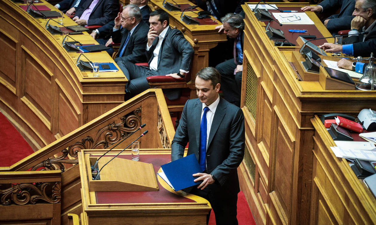 Ψήφος εμπιστοσύνης - Μητσοτάκης: Αυτή είναι η τελευταία πράξη μιας πολιτικής φαρσοκωμωδίας