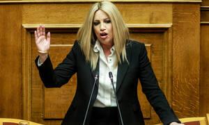Ψήφος εμπιστοσύνης - Γεννηματά: «Από την κάλπη κ. Τσίπρα θα βγείτε και χαμένος και καμένος»