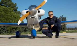 Πτώση αεροσκάφους στο Μεσολόγγι: Συνεχίζονται οι έρευνες για τον εντοπισμό του πιλότου (pics)