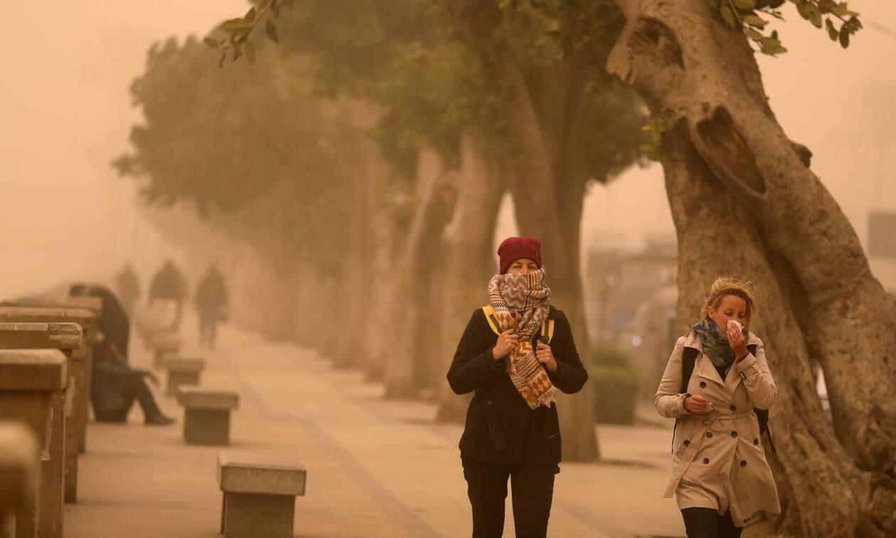 Αίγυπτος: Πέντε νεκροί από φονική αμμοθύελλα (pics)