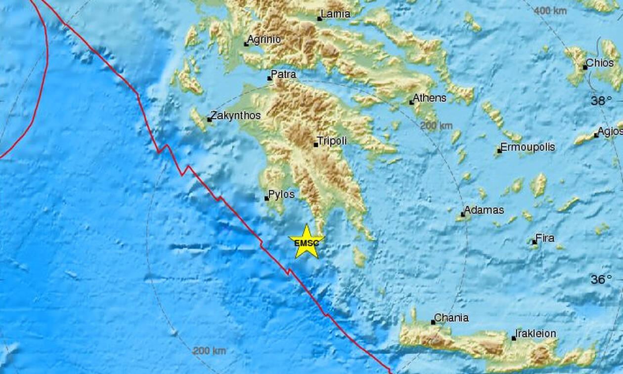 Σεισμός ΤΩΡΑ κοντά στη Λακωνία - Αισθητός στη Μάνη (pics)